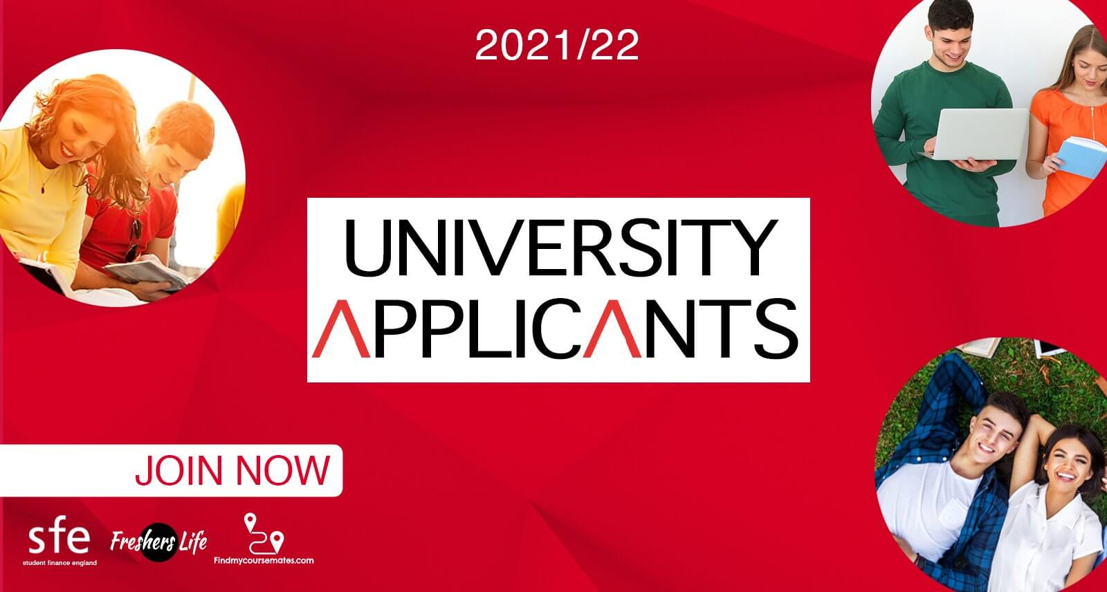 University Applicants Guide - Cover Photo